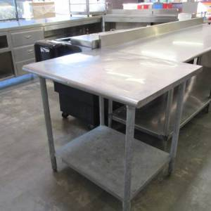 3 ft steel table