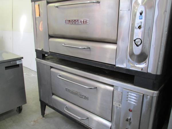 Blodgett Double Stack Gas Pizza Ovens