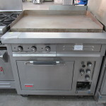 Used Commercial Oven With Flat Top Griddle