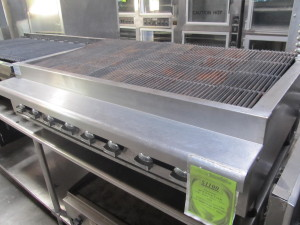 "48"" Gas Charbroiler"