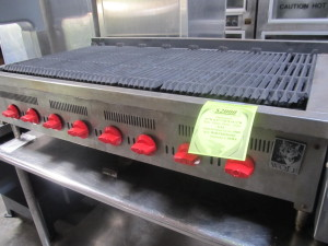47 Wolf Gas Charbroiler