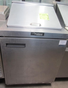 "Delfield 27"" Sandwich and Salad Prep Refrigerator"
